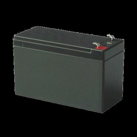GENERICO Batería | Tecnología VRLA | 12 VDC 7 Amperios/Hora | BAT12V7Ah