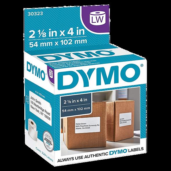 DYMO 30323 | Rollo de 220 Etiquetas de 102x54mm para Dymo 450