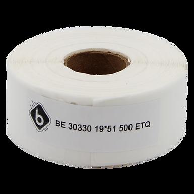 Dymo 30330 Rollo de 500 Etiquetas de Papel de 19x51mm para Dymo 450 | BIOLABELS