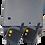 Controlador de Acceso Inalámbrico Magneticlock con dos Mandos Inalámbricos