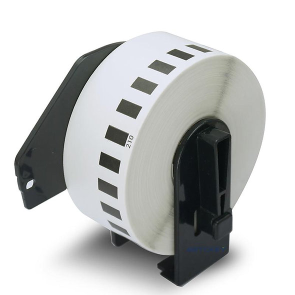 BioLabels DK-2210 Rollo de Etiqueta Continua de 29mm x 30m Con Carrete