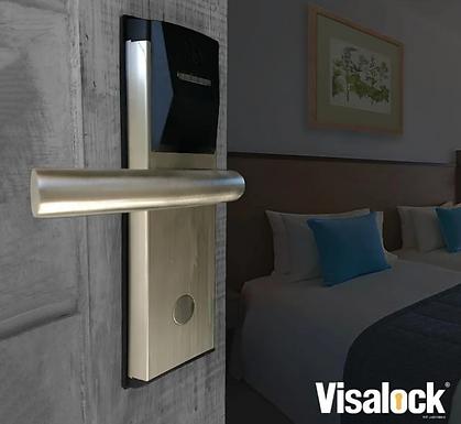 RoomLock VISALOCK | Chapa de Tarjetas para Puerta de Hotel 2000 Registros