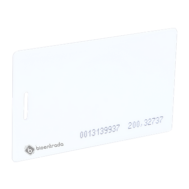 10 Tarjetas de Proximidad Gruesas con Numero Impreso Control de Acceso EM4100