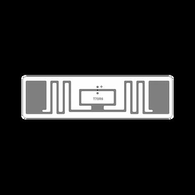 UHFM VIXZION Etiqueta UHF Para Moto Programada Paquete x 10