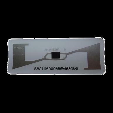 UHFA VIXZION Etiqueta UHF Para Automóvil Programada Paquete x 10