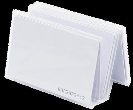 10 Tarjetas de Proximidad Delgadas EM4200 Tipo ISO Numero Impreso   TPIC
