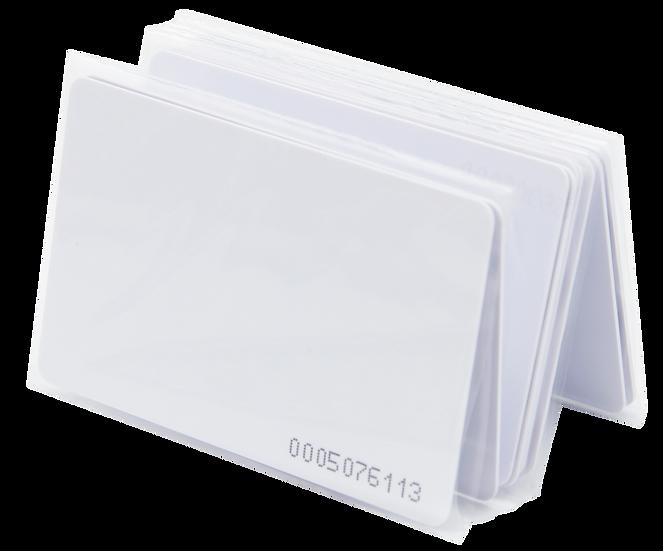 10 Tarjetas de Proximidad Delgadas EM4200 Tipo ISO Numero Impreso | TPIC