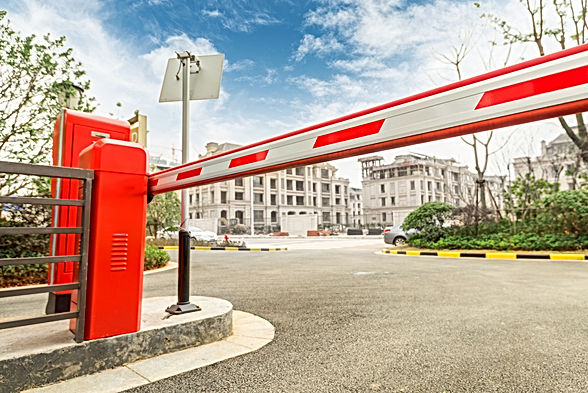 Barrier on the car parking.jpg