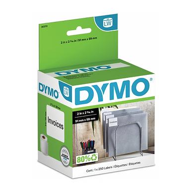 DYMO 30256 Rollo de 300 Etiquetas de papel térmico de 101x59mm para Dymo 450