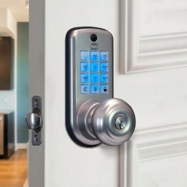 PH120 Pomo Digital de Apertura por Código y acceso mecánico por llave