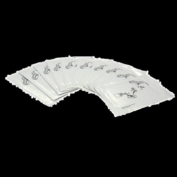 552141-002 DATACARD   Kit de Limpieza   10 tarjetas limpieza de Rodillos