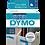 DYMO 45016 | Cinta Plastica de 12mm x 7m Impresión Negro/Azul