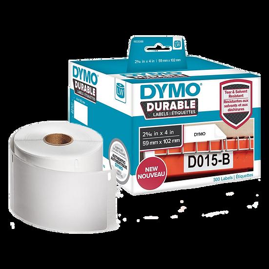 1933088 DURABLE   Caja por 300 Etiquetas de 59x102mm   Dymo 450 Industrial