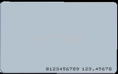 25 Tarjetas Mifare Classic EV1, 4K Rosslare AT-Z4S-000-0001