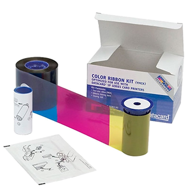 535000-009 DATACARD CP80 | Ribbon Color de 500 Impresiones YMCK-K