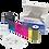 535000-003 DATACARD | YMCKT Ribbon Color para 500 Impresiones | YMCKT CD800