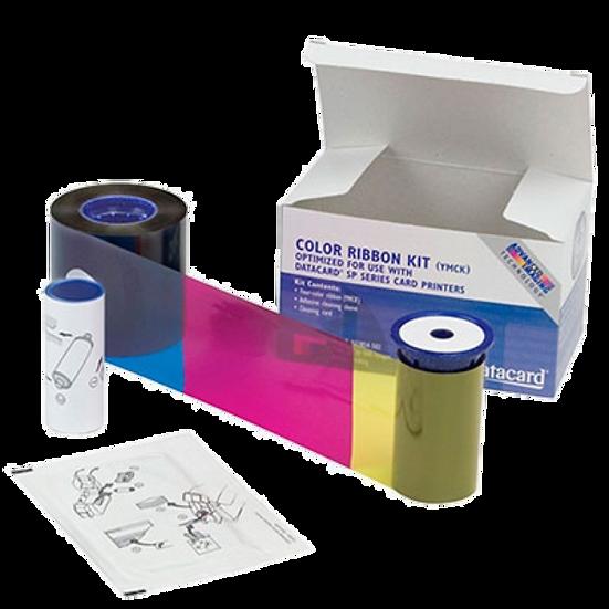 535000-006 DATACARD CP40, CP60 Y CP80 | Ribbon Color de 300 Impresiones YMCKT-KT