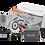 Electroimán de 400 Libras Inalámbrico Redondo con 2 Transmisores y Soporte en Z
