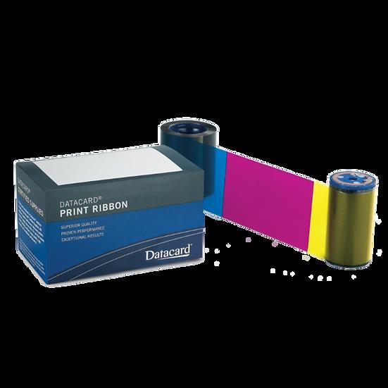 534700-001-098 YMCKT DATACARD SD160 Ribbon Color 250 Impresiones y Kit Limpieza