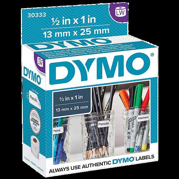 Dymo 30333, Rollo de Etiquetas para Precios de 13x25mm Original para Dymo 450