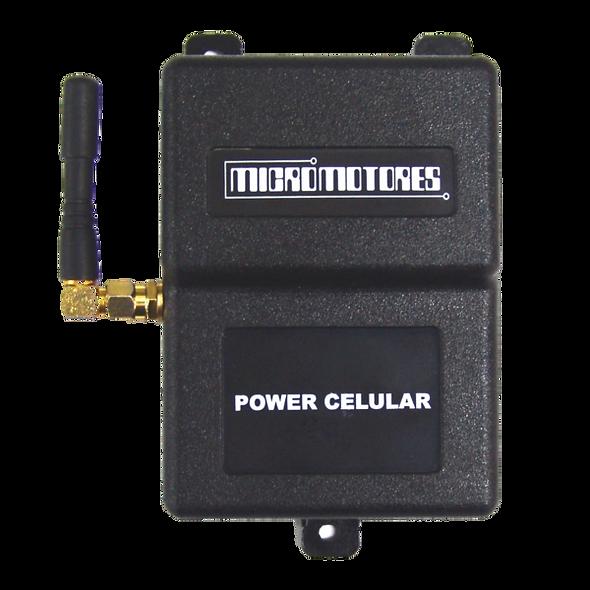Power Celular | Controlador GSM Multifunción de 4 Salidas