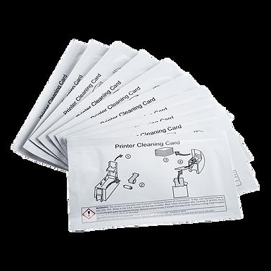 558436-001 DATACARD CD800DL   Kit de 10 tarjetas limpieza Módulo de Laminación