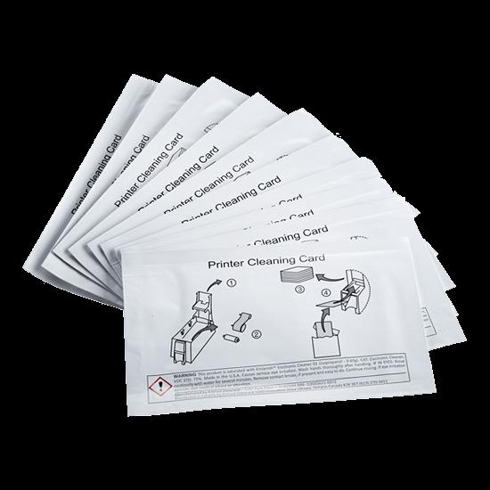 558436-001 DATACARD CD800DL | Kit de 10 tarjetas limpieza Módulo de Laminación