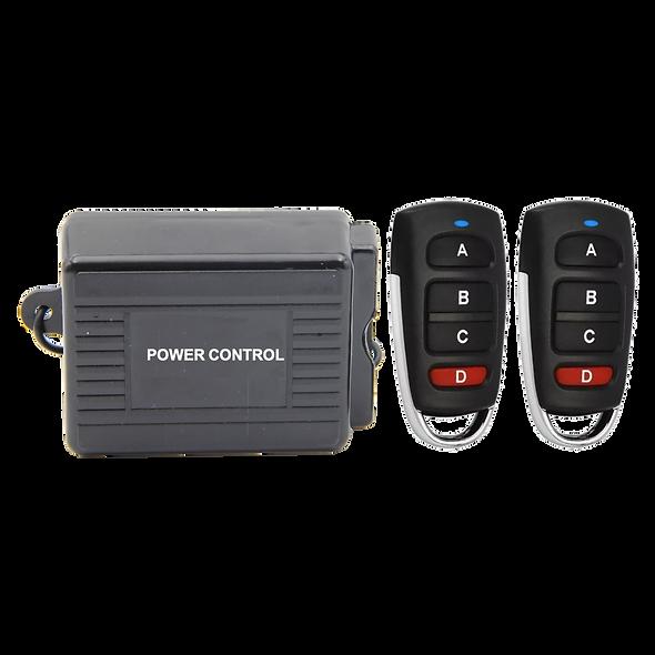 PC4433   Controlador Inalámbrico con 4 Salidas de Relé a 433 MHz