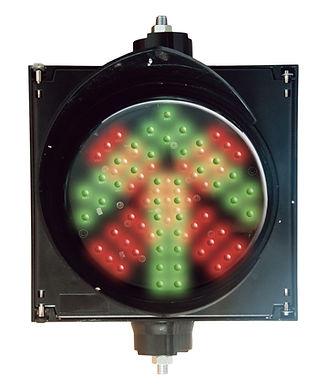 PRO-LIGTH AXCSS Semáforo de control vehicular para parqueaderos iluminación led