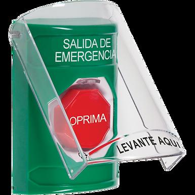 SS21A9EM-ES | Estación de Emergencia Tipo Botón de Enclavamiento con Sirena