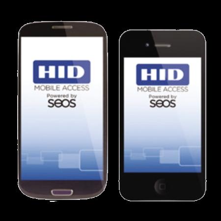 Credencial Móvil SEOS x 100, Control Acceso Con Celular CRD633