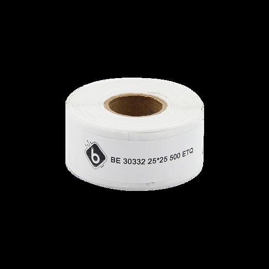 Dymo 30332 Rollo de 500 Etiquetas de 25x25mm para DYMO 450 | BIOLABELS