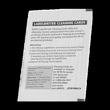 CLEANING CARD   Tarjeta de limpieza para Impresoras Térmicas   60622