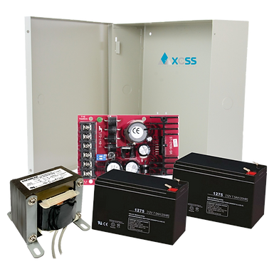Kit Fuente 24VDC Seco-Larm 2406-5AQ, Gabinete, Transformador y 2 Baterías