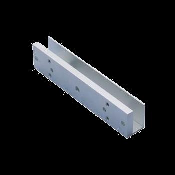 """Soporte en """"U"""" para Instalar Electroimán de 350 Lb en Vidrio   MLE350U"""