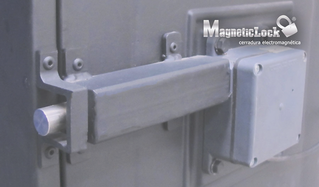 Chapa Electrónica Monitoreable para Bóvedas de Seguridad