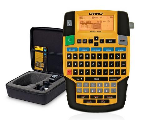 Kit de Rotuladora Industrial Rhino 4200   DYMO Industrial
