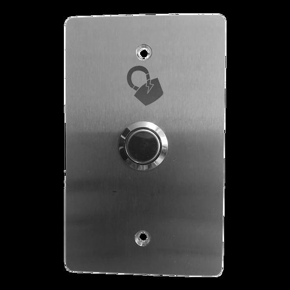 Botón de Apertura de Puerta Normalmente Abierto en Acero Inoxidable - Magneticlock