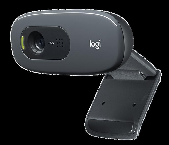 Logitech WebCam para Software Control de Visitantes | C270