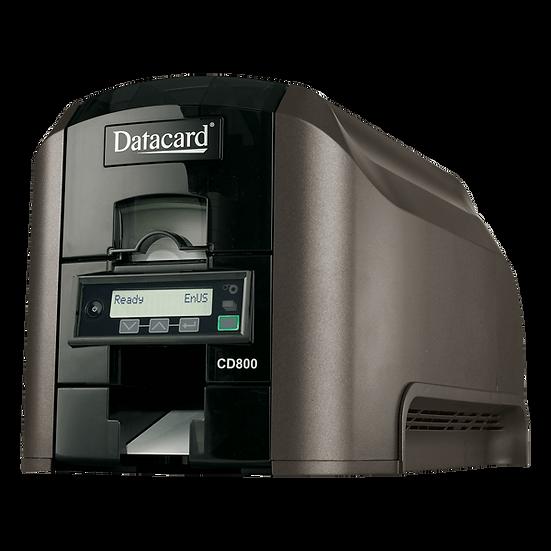 CD800 Impresora de Carnet a una Sola Cara conexión USB y Ethernet   DATACARD