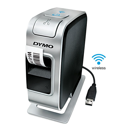 Dymo PnP Wireless Rotuladora de Cintas Plásticas hasta 24mm Puerto USB