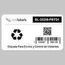 Etiquetas Dymo Compatibles 30256
