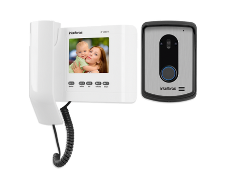 INTELBRAS   Kit de Video Portero Digital Frente de Calle con Monitor Interno