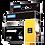 DYMO Rhino Industrial 1805434 Poliester Permanente 24mmx 5,5m Negro/Metal