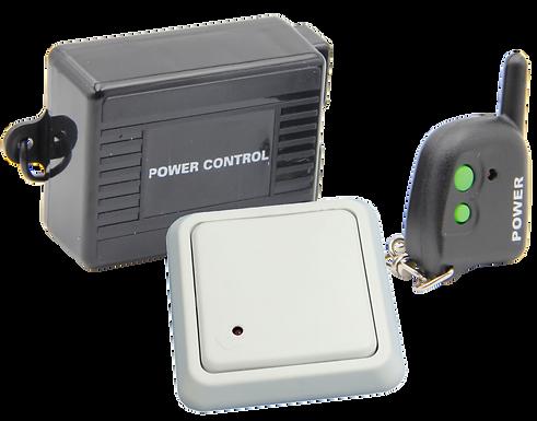 Kit Control Remoto, 1 Receptor 1 Transmisor y 1 Botón Fijo Inalámbrico a 360 MHz