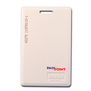 Tarjeta de Proximidad PassPoint Gruesa x 25 Unidades   PTPROX