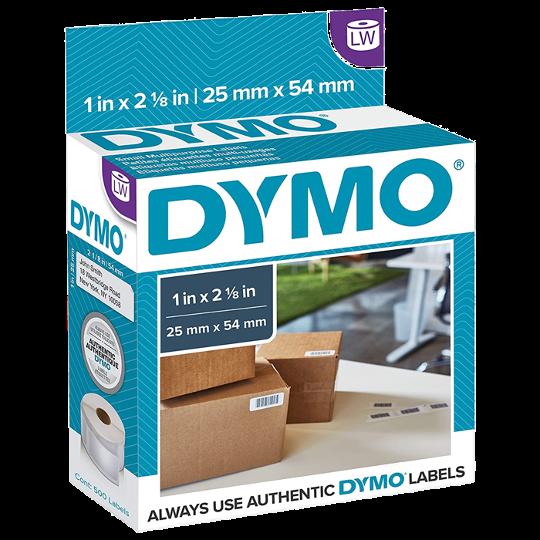 Dymo 30336 Rollo de 500 Etiquetas de 25x54mm Códigos de Barras Para Dymo 450