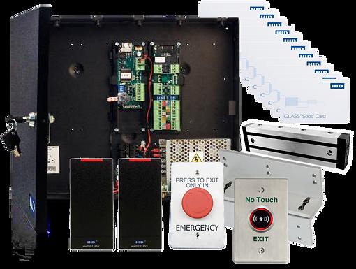 Kit HID de Control de Acceso para 2 Puertas Todo en Uno
