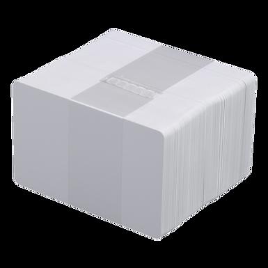 DATACARD | Paquete de 100 Tarjetas PVC Blancas Calibre 30 para Carnet