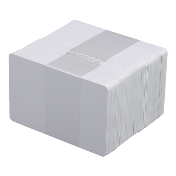 500 Tarjetas PVC Blancas Calibre 30 para Carnet | DATACARD